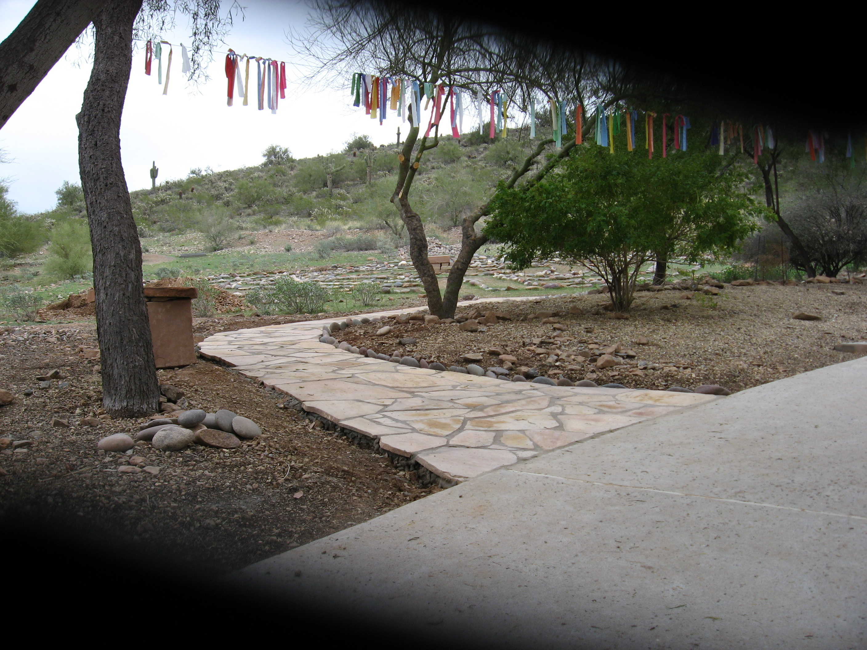 The Labyrinth and Prayer Flags