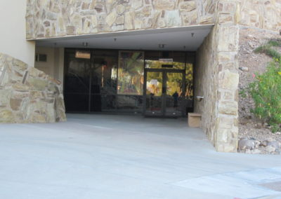 Kreider Center Entrance (below the sanctuary)